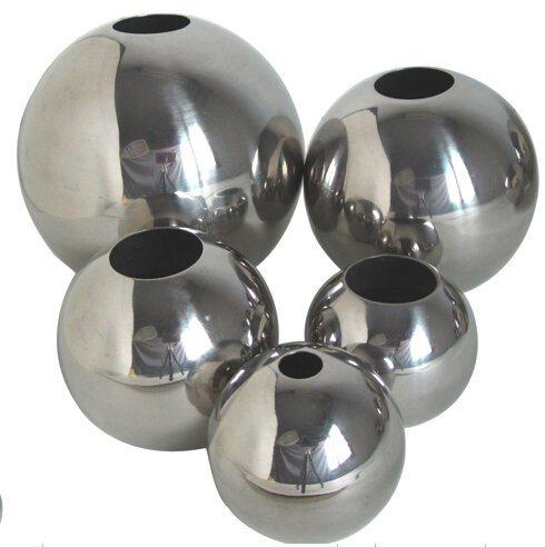 201不锈钢装修配件 空心圆球 规格齐全