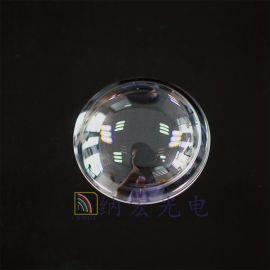 六轴四轴无人机生产厂家航拍用可见光高透过球面镜头防护镜镀膜罩