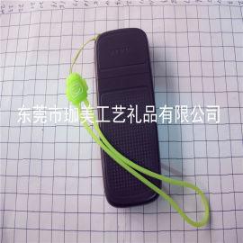 软胶手机挂绳  卡通手机吊绳  广告手机绳
