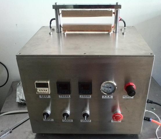 上海阿依不锈钢实验实多功能塑料铝箔复合热封测试仪