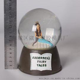 義烏樹脂工藝品 小醜樹脂水球 玻璃水球 家庭裝飾 家居擺件
