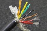12芯0.3平方(22AWG)TRVSP12*0.3高柔耐磨耐折拖链双绞屏蔽电缆