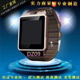 工廠直銷智慧手表DZ09智慧穿戴插卡qq微信版手表手機藍牙手表