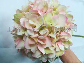 設計師的花仿真繡球花 單支繡球婚慶繡球 仿真花絹花拱門路引花家居裝飾花
