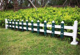 花壇護欄|綠色塑料圍欄|市政花園護欄|塑鋼草坪護欄