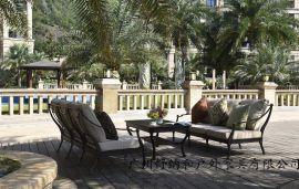 廣西桂林度假酒店花園鑄鋁沙發