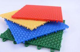 幼儿园塑胶地垫室外跑道操场防滑垫篮球场悬浮式拼装地板