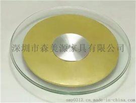 酒店餐桌转盘钢化玻璃圆桌转盘圆形桌面