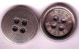 供應合金絲印logo服裝四孔鈕扣