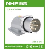NHP南普 200A五芯码头明装电源插头 防水明装插头