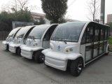 全新款十一座全玻璃观光车,考拉款封闭观光车