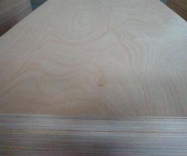 杨木桉木芯奥古曼贴面三合板