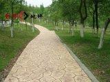 安徽銅陵景觀壓花地坪/彩色藝術壓模地