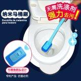 厂家直销马桶刷子软毛刷创意长柄厕所刷卫生间洁厕刷纳米海绵刷