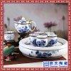 陶瓷茶壶功夫茶具整套茶杯套装带底托家用办公送礼礼盒