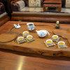 【银银瓷器 追月茶具】醴陵陶瓷器釉下五彩瓷茶具套装 商务活动礼品茶具定制