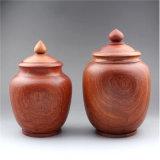 红木茶叶罐缅甸花梨木茶叶桶实木收纳储物罐糖果零食盒