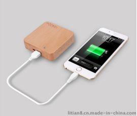 10400毫安木质移动电源 小米手机通用充电宝 礼品定制