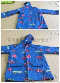 0.45mmPU加汗布兒童夾克