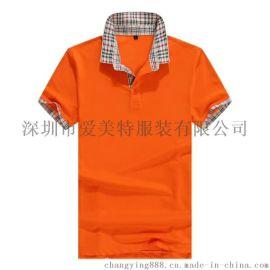 广告T恤衫001全棉珠地布料. POLO衫