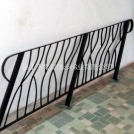 尚步梯业  扁形碳钢 阳台楼梯护栏栏杆