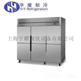 六门冷藏冷冻冷柜,六门冷藏立式冷柜,六门冷冻立柜价格,上海六门双温冷柜
