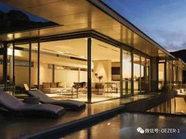 貝科利爾151系列高端鋁包木別墅玻璃頂隔音設計陽光房