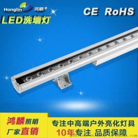 結構防水洗牆燈_24W結構防水線形燈