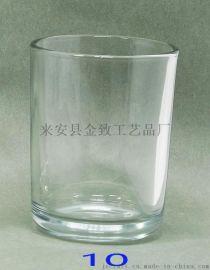 各种尺寸玻璃烛台刻花喷砂喷色电镀各种尺寸配木盖竹盖石陶瓷盖金属