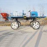 新型四轮玉米打药车/高地隙水旱两用喷药机
