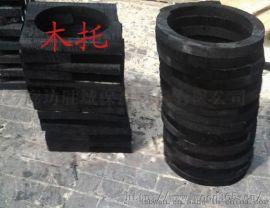 带抱箍空调木托沥青油空调木托