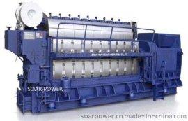 现代船用发电机组