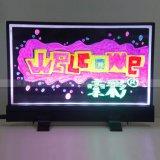 索彩柜台荧光板 40*30柜台广告展示板 手写发光宣传板厂家供应