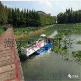 新疆水陆两用收割新芦苇设备,小型芦苇收割船