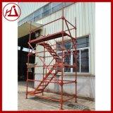 建宇批发 焊接钢管施工安全爬梯 建筑模板脚手架 铸造高墩品牌