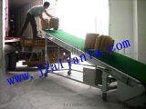 快递物流装车 爬坡带 分拣流水线 输送带 爬坡输送带设备
