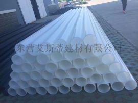 加工定制HDPE白色给水管、出口聚乙烯白色管材【实力厂家】