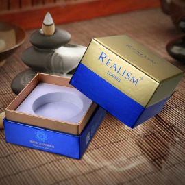 工厂专业定制护肤品包装盒 精装盒天地盖精油系列套装化妆品礼盒