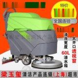 德威莱克电瓶式洗地机/电瓶手推式洗地机