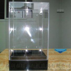 高档透明亚克力天地盒 礼品展示盒有机玻璃天地盒