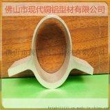6063合金铝管型材万能铝棒挤压型材成品圆管铝型材加工铝合金扁管