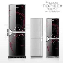 """""""电冰箱设计 """"参数说明 型号: a-08 包装: 宁波拓迪产品设计 """"电冰箱图片"""