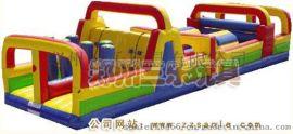 房地產開業陸地衝關遊樂設備道具充氣滑梯道具