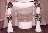 生日布置私人party,場地布置簡單安裝,窗簾架