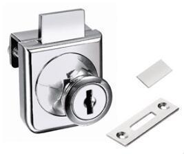 厂家直销 雅诗特 YST-407玻璃锁单门锁