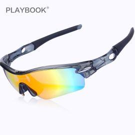 戶外運動騎行 戶外偏光眼鏡 可配近視防風沙眼鏡