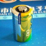 诺星CR2柱式锂电池 照相机警示灯专用电池 无线烟雾报警器电池