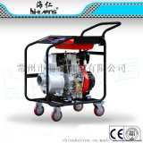 DP40 4寸柴油水泵,便携式柴油水泵配轮子,10马力柴油机配水泵