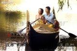 棠樾 束河 丽江 黑河定做贡多拉木船 水上娱乐木船 休闲木船 观光木船