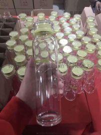 精品水杯生产厂家 定制创意玻璃水杯